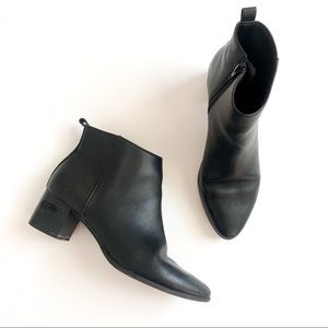 Old Navy Faux Leather Ankle Boots